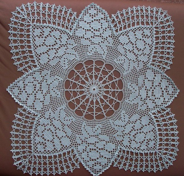 Ravelry: Design 600 - Crocheted TV Square pattern by Vintage