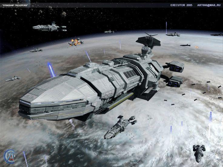 StarShip Troopers by SmirnovArtem on DeviantArt
