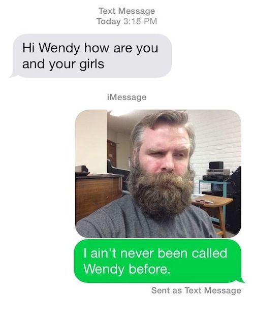 wrong number texts