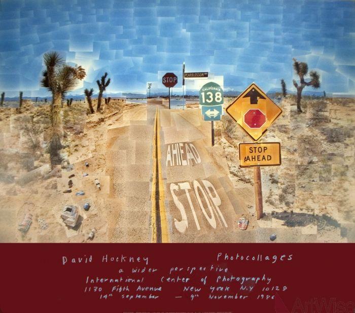 David Hockney- Pearblossom Highway