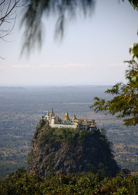 Temple at Mount Popa, Myanmar