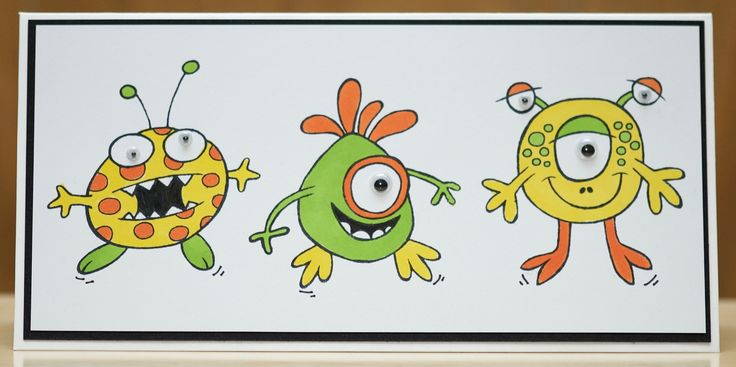 Woodware . The Blimps , coloured with Pro markers.
