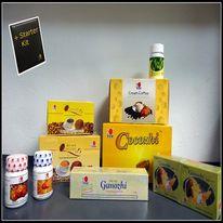 Paketets innehåll: DXN Linghzi svartkaffe - 1 st DXN Lingzhi kaffe 3 i 1 - 1 st DXN Cream Coffee - 1 st Cocozhi - 1 st Spirulina tablett 120 - 1 st RG 30 kapsel - 1 st GL 30 kapsel - 1 st Ganozhi tandkräm - 1 st Ganozhi tvål - 1 st Starter Paket - 1 db http://kaffe.dxninfo.com/products