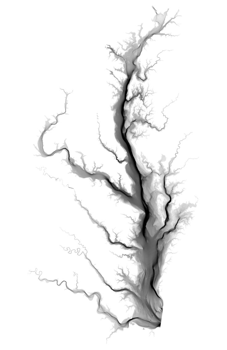 Chesapeake Bay Bathymetry by seanlax5 #map #cheseapeakebay