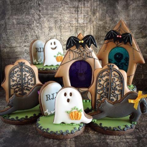halloween cookies                                                       …