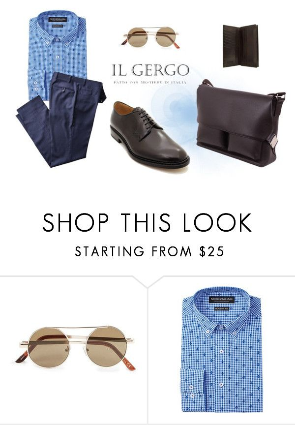 """Il Gergo ""Director"" Book coffee"" by paolo-rossi on Polyvore featuring Topman, Nick Graham, men's fashion e menswear"