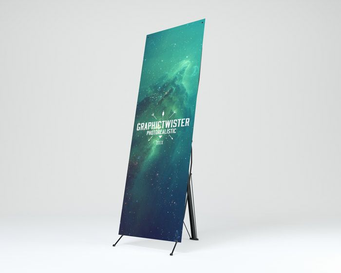 Banner Stand Mockup | Premium and Free PSD Resources