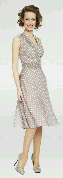 Oh I love this! #dress #polkadots #style #classy #fashion – Good Dress
