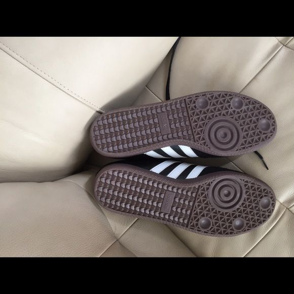 Adidas samba turf shoes Black classic samba used handful of times like new...need a good home... Adidas Shoes