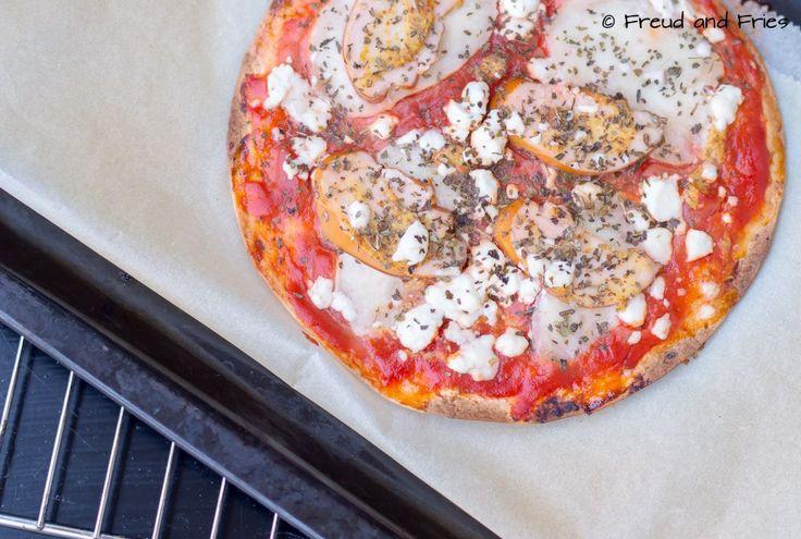 Tortizza met kip, mosterd en geitenkaas | Freud and Fries