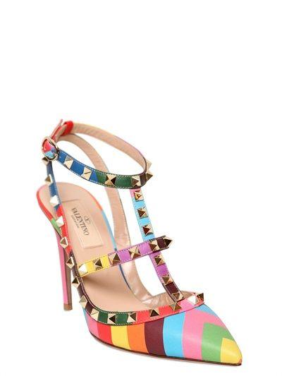 Valentino Studded Heels #valentino #2015 #shoes #heels #studded #luisaviaroma