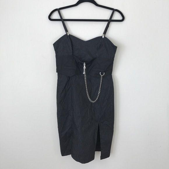 """LIP SERVICE Costume Vault """"Gangster Vixen"""" short dress #49-6-08"""