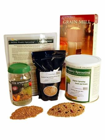 Ezekiel 4:19 - make your own Ezekiel Bread.Basic Ezekiel, Breads Kits, Bible Breads, Organic Ezekiel, Basic Kits, Healthy Breads, Grains Mixed, Ezekiel Breads, Ezekiel Grains