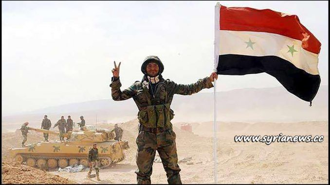#SAA Declares city of #DeirEzzor Completely Cleaned from #ISIS:  http://www.syrianews.cc/saa-clean-deir-ezzor-completely-isis/  #Syria #Hezbollah #US #Saudi #Qatar #Turkey #AlQaeda #FSA #Nusra #Israel