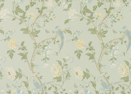 Summer Palace Floral Wallpaper by Laura Ashley