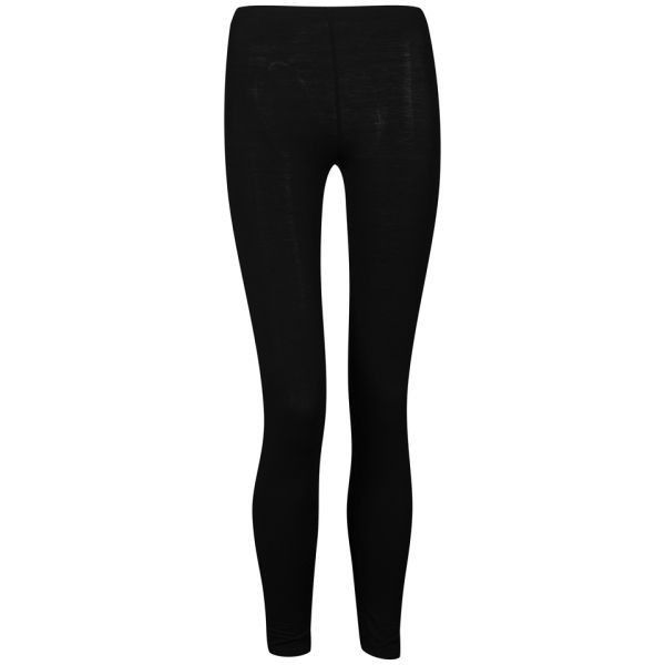 Influence Women's Basic Leggings ($7.42) ❤ liked on Polyvore featuring pants, leggings, bottoms, jeans, calças, black, black pants, elastic waistband pants, slim pants and black leggings