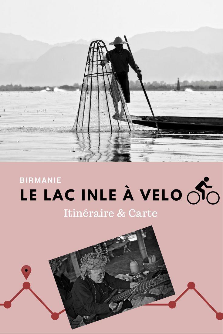 Birmanie - Myanmar: itinéraire à vélo autour du lac Inle. Dans cet article on vous propose une magnifique boucle à faire à vélo autour du lac Inle avec une traversée du lac. Itinéraire pour les voyageurs indépendants qui veulent visiter le lac sans passer par des tours organisés et terminer la journée par une bonne dégustation de vin avec vue sur le lac au coucher du soleil :)