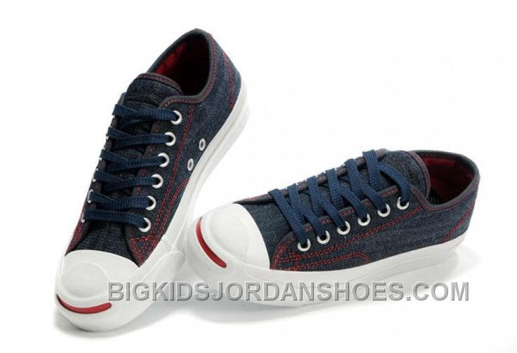 http://www.bigkidsjordanshoes.com/blue-converse-jack-purcell-denim-jean-red-serif-canvas-sneakers.html BLUE CONVERSE JACK PURCELL DENIM JEAN RED SERIF CANVAS SNEAKERS Only $69.00 , Free Shipping!