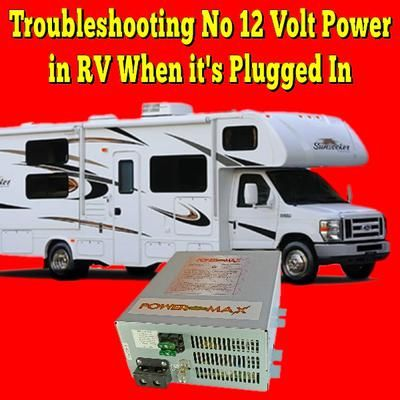 Travel Trailer Plugged In But No Power
