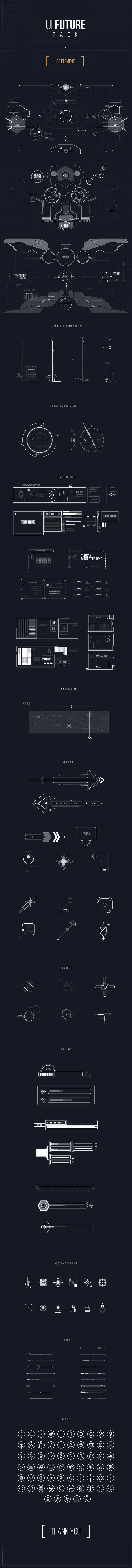 UI FUTURE PACK on Behance