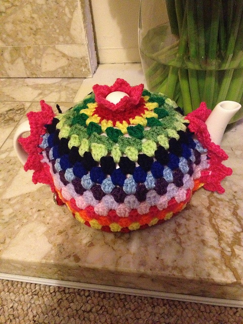 Ravelry: Project Gallery for Granny Tea Cozy! pattern by Alice Best