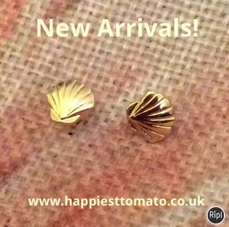 New stock in store! www.happiesttomato.co.uk #sales #jewellery #gifts #shell