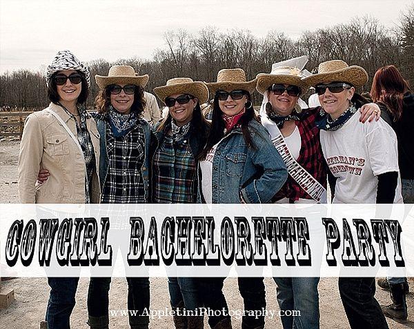 Cowgirl Bachelorette Party Theme.