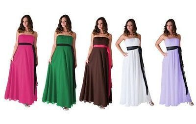 41.48$  Buy now - http://vildh.justgood.pw/vig/item.php?t=5l5ozr44397 - Vestido Formal Largo De Noche Vestido Dama Honor Boda Fiesta Xs - 2xl