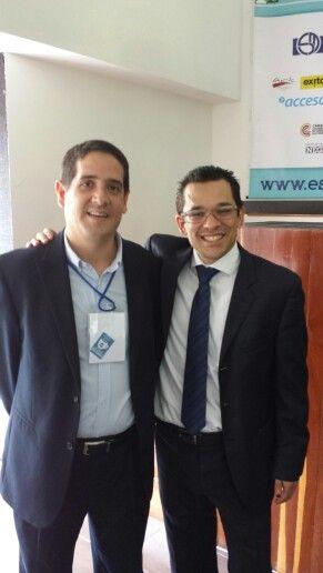 Con Ricardo Henao Director de Comercio Directo del Grupo Exito y experto del .com en trasacciones comerciales