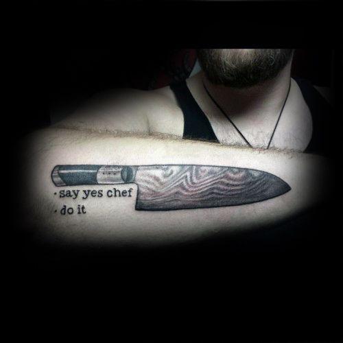 Cráneo de sombra y de la bandera pirata del cuchillo del cocinero tatuajes del brazo Para los caballeros