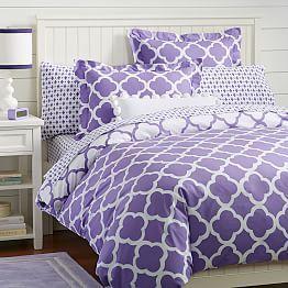 Purple Bedding, Pink Bedding & Purple Bedding Sets | PBteen