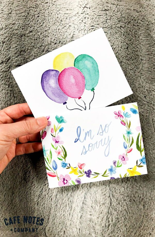 Hand Painted Watercolor Sympathy And Birthday Cards Watercolor Birthday Cards Greeting Card Collection Greeting Card Shops