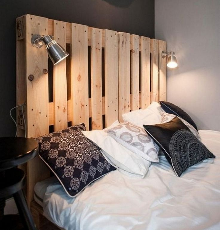 les 25 meilleures id es de la cat gorie tete de lit palette sur pinterest t tes de lit. Black Bedroom Furniture Sets. Home Design Ideas