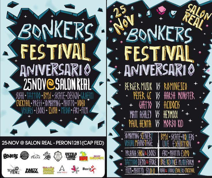 ACIDOCIS @ BNKRS FESTIVAL ANIVERSARIO