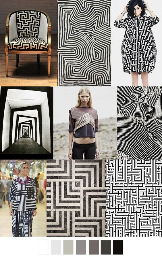 PATTERN CURATOR - PRINT + COLOR . SS 2017 A-MAZE-MENT: