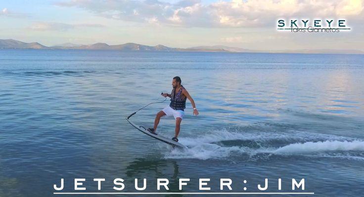 JET SURF EXTREME zouberi beach greece high view