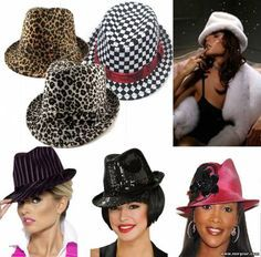 Like this but I wish it was in English so I could read the directions. Pattern fedora hats