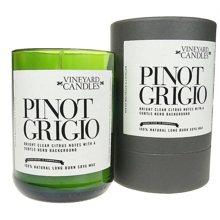 Vineyard Pinot Grigio Candle