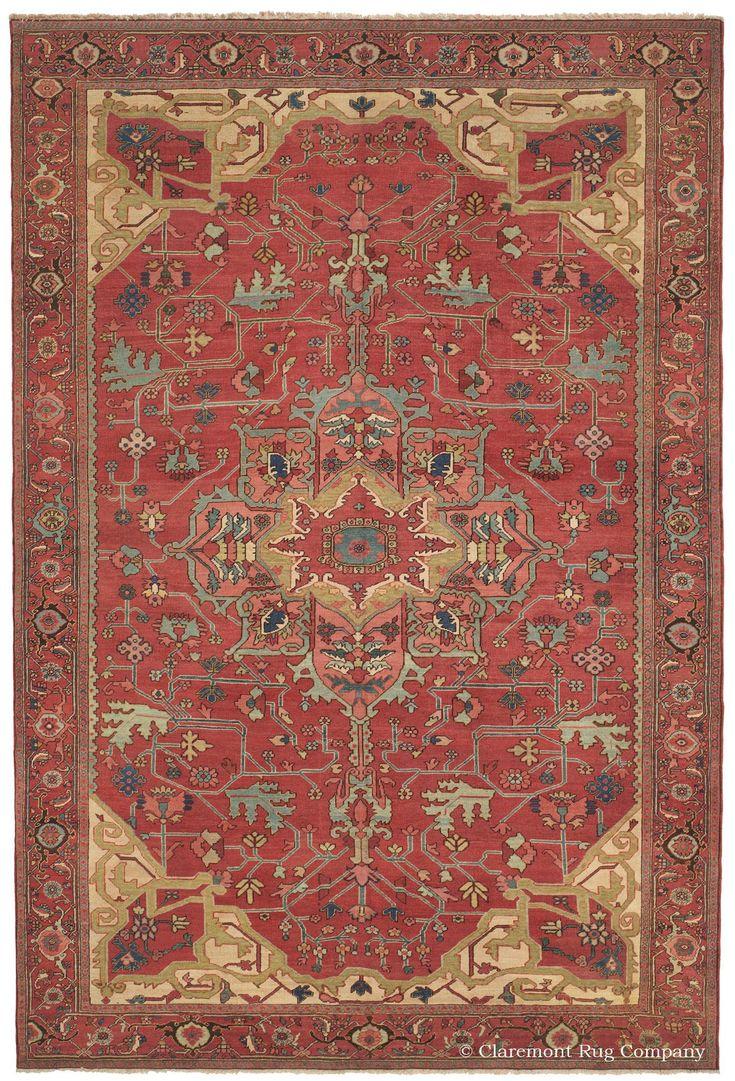 SERAPI, Northwest Persian, 8ft 0in X 11ft 6in, 3rd Quarter, 19th Century