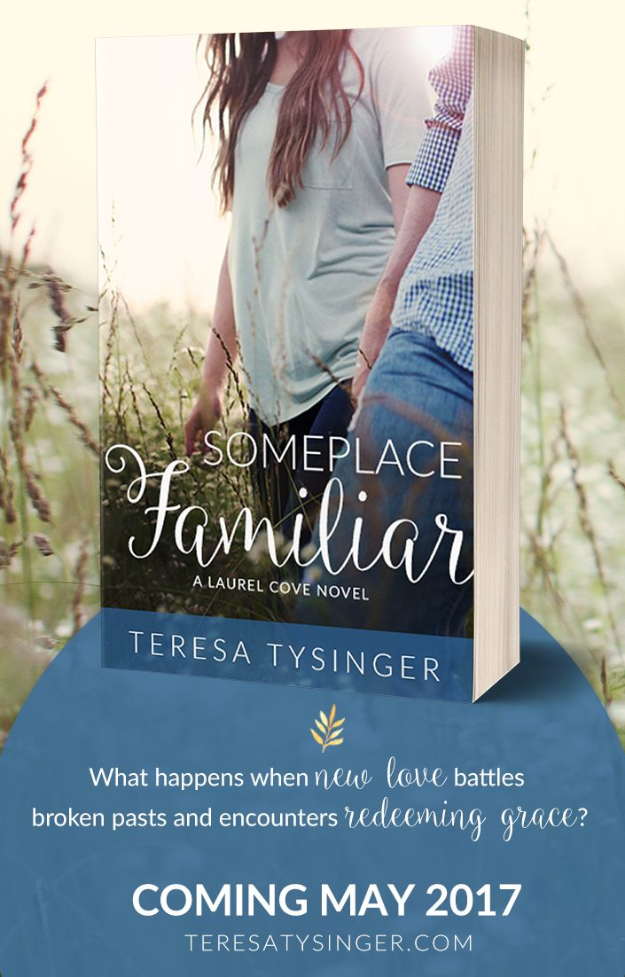 Someplace Familiar is the debut contemporary inspirational romance novel by Teresa Tysinger. COMING MAY 2017  Books, Romance, Novels, Good Reads, Want to Read, Christian Fiction, For Book Lovers, Reading, Book Love, Book News, New Releases, Upcoming Releases