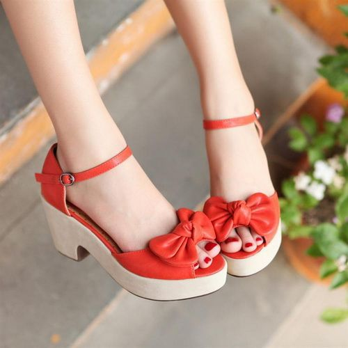 So lovely.: Fabulous Footwear, Red Shoes, Dream Closet, Google Search, Flat Shoes, High Heels, Flats Sandels