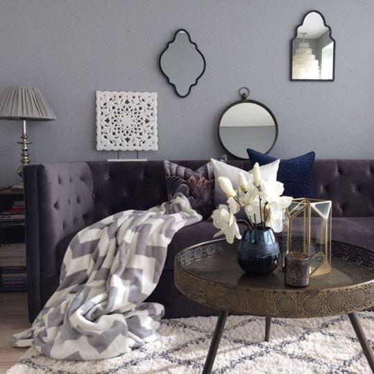 Wallpaint: Vibrant Grey