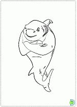 Shark Tale coloring pages, Shark Tale movie coloring pages- DinoKids.org