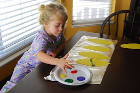 All Things Belle: Another Toddler Thanksgiving Craft