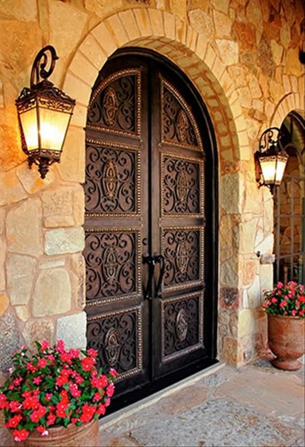 Spanish Style Door that brings a warm and masculine look. www.giselanajera.pacificsothebysrealty.com