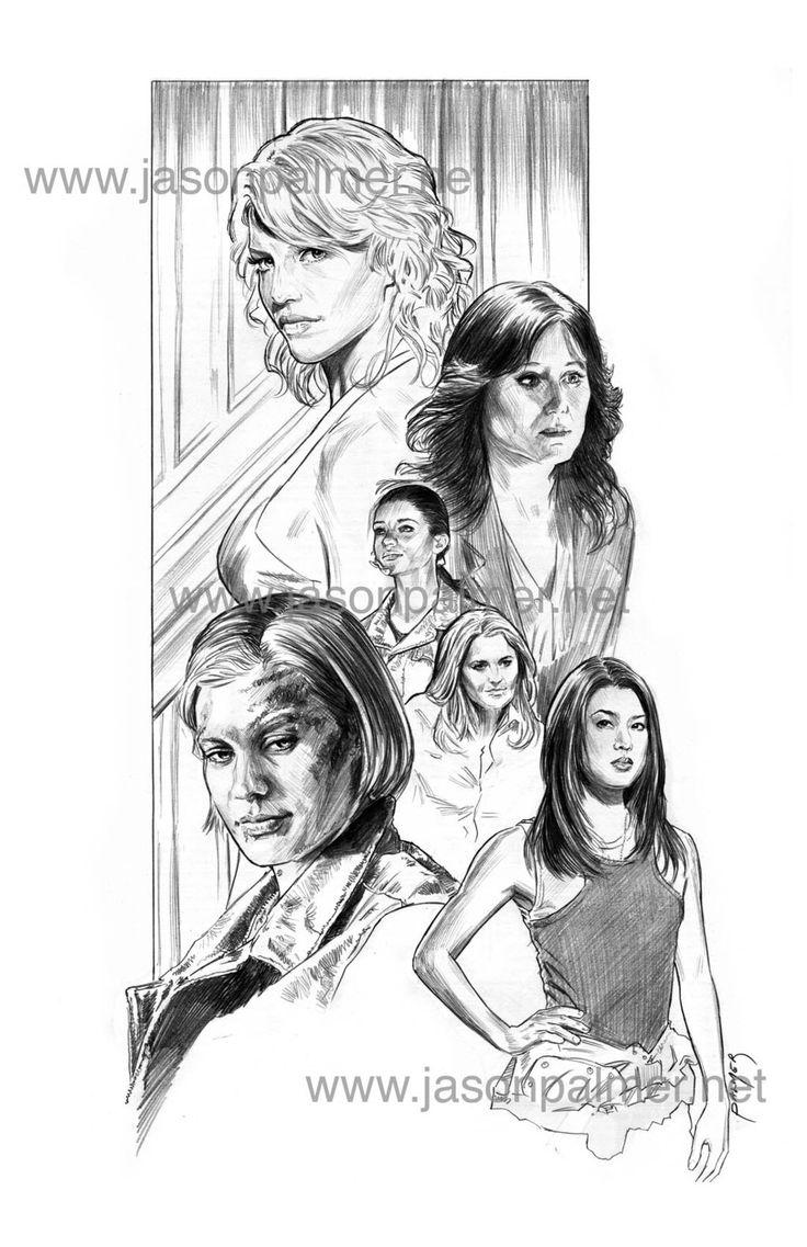 Battlestar Girls by jasonpal on @DeviantArt