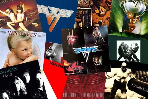 Van Halen Album Covers