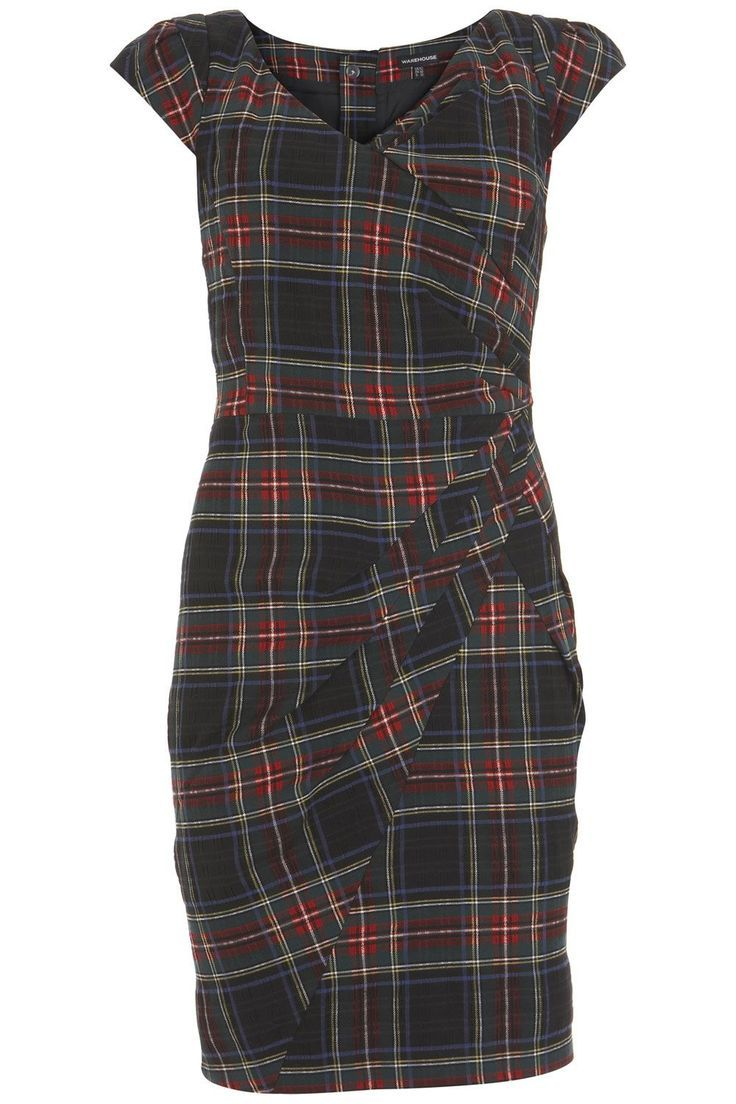 pinterest tartan dresses | tartan dress