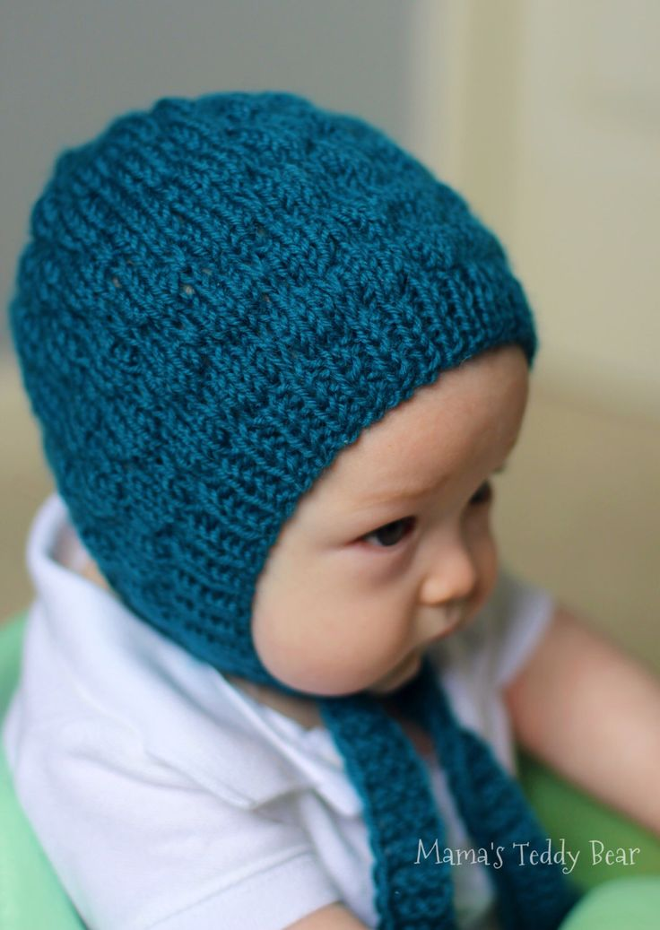 A personal favorite from my Etsy shop https://www.etsy.com/listing/237761889/bumpy-textured-blue-wool-bonnet-gender