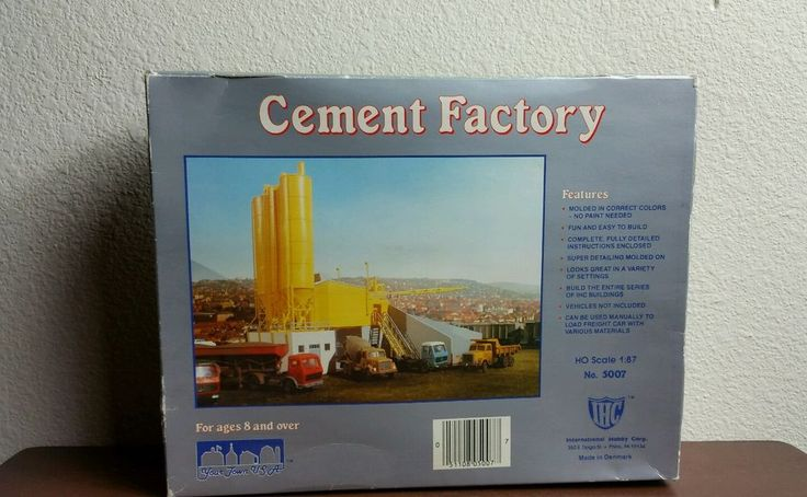 CEMENT FACTORY BY IHC IN DENMARK COMPLETE  #IHC